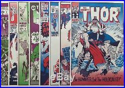 Full set 12 FOOM Posters Marvel Covers UNUSED John Romita Steranko Jack Kirby