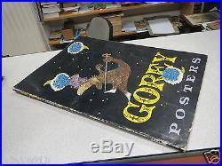 GA1 Gorey Posters by Edward Gorey (1979, Paperback, Abrams, Folio-Sized), RARE