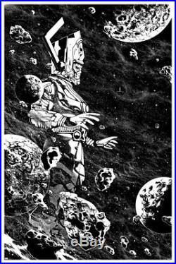 Galactus Comic Book Poster Print Mondo Killian Eng Variant Edition Silver Surfer