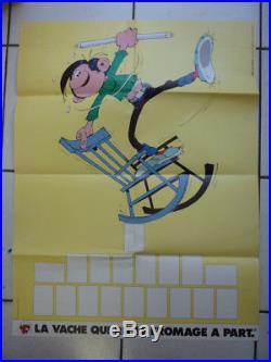 Gaston / La Gaffe Qui Rit / Complet + Poster / Vache Qui Rit / 1985