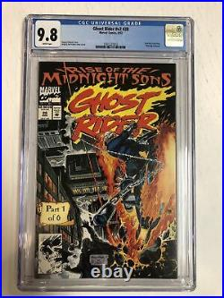 Ghost Rider (1992) # 28 (CGC 9.8 WP) 1st App Midnight Sons & Lilith Poster