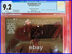 Ghostbusters #14 CGC 9.2 Taxi Driver movie poster cover IDW Retailer Incentive