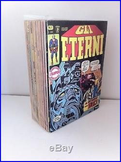 Gli Eterni 1-24 Sequenza Completa IL N. 14 Con Poster Editoriale Corno Lotto