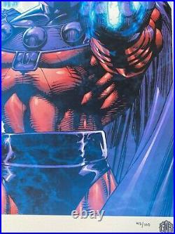 Grey Matter Art X-men Double Gate-fold Variant & Regular Print Set Jim Lee Le100