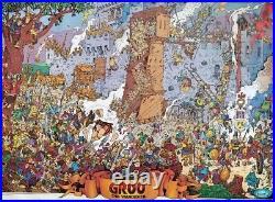 Groo The Wanderer Castle Siege Poster 1988 Sergio Aragones VF/NM Marvel Press