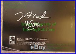 HELLBOY's Abe Sapien The Drowning SIGNED Poster / Lithograph Mike Mignola VHTF
