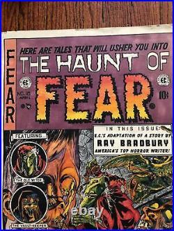 Haunt of Fear Vintage Horror EC Comics Poster 15 X 21 Super Rare OOP Halloween