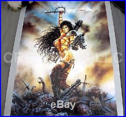 Heavy Metal FAKK 2 Collection Sword Knife Autographed Poster United Cutlery LE