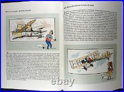 Hergé Chromos Histoire de l'aviation des origines à 1914 Ed. Septimus 1980 TBE
