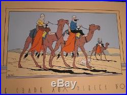 Herge Serigraphie Tintin Le Crabe Aux Pinces D Or 100 X 70 Neuf
