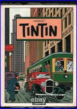 Hergé. Tintin. Album Posters Détachables. Eo. 1986. Casterman (a)
