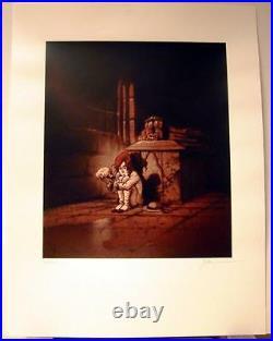 Hislaire serigraphie Sambre Maudit soit le fruit 250 ex signe