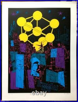Hommage à l'Atomium Sérigraphie Atomium Dupuy Berberian 199 ex. N&S (Dupuy) Neu