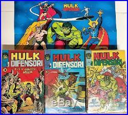 Hulk e i difensori completa da 1 a 44 corno con poster n. 1