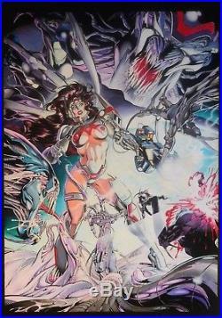 Illustrazione Originale di Claudio Castellini, per poster Marvel