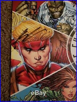 Image Comics Poster SIGNED by 6 original founders Todd MacFarlane @ ECCC 2017