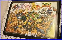 Infinity War original release retro 90s comic book poster 36x24