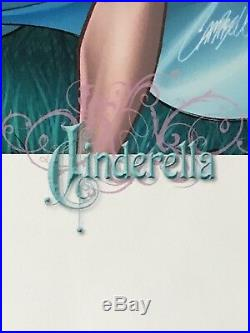 J. Scott Campbell Cinderella Fairytale Fantasies 2009 SDCC Limited Print 13x19