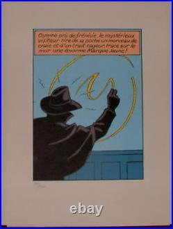 Jacobs Marque Jaune serigraphie 1000 ex HC Monde de Jacobs
