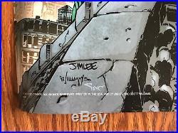 Jim Lee Hush Batman 619 Poster Set Heroes Villains Signed rare COA