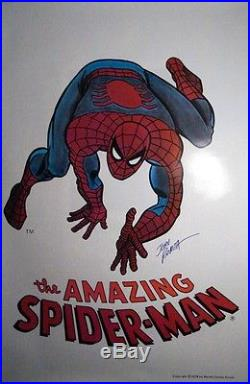 John Romita Sr. SIGNED AUTOGRAPHED The Amazing Spider-Man Poster NEW VERY RARE