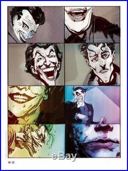 Joker SIGNED Art Print By Jock Poster DC Mondo Batman Thought Bubble Comic Book