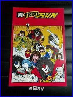 KISS Miller Trial Run Beatles Comic Book Issue 6 RARE