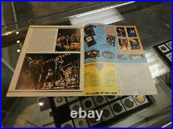 Kiss Marvel Super Special 1978 2nd Comic Book with poster