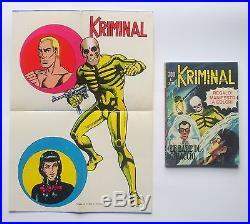 Kriminal 300 con poster originale