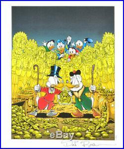 L'Art Di DON ROSA Portfolio Special ALLE 8 Lithografien signiert & Bonusdruck