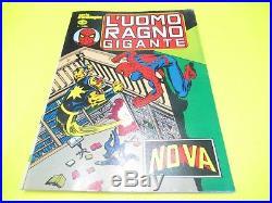 L' Uomo Ragno Gigante Completa N. # 1 / 93 Adesivi Poster Gadget Corno 1976