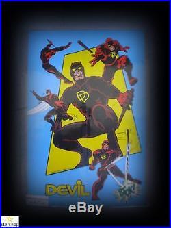 L'incredibile Devil-1/126 Serie Completa -editoriale Corno-poster/adesivi-ottimo