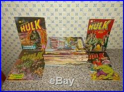 L'incredibile Hulk Serie Completa 1/38 Corno Ott/edicola No Resa+poster+adesivi