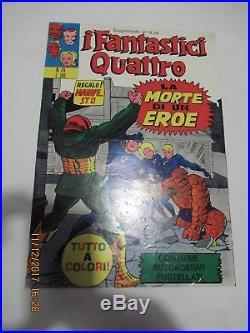 Locandina Fantastici Quattro N. # 26 Jack Kirby Marvel Corno Gadget 1973 Poster