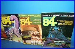Lote 67 comics ZONA 84 incluyendo almanaques y solo posters TOUTAIN EDITOR -1984