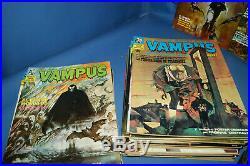 Lote 78 Comics VAMPUS colección casi completa 74 números + 4 extras-con posters