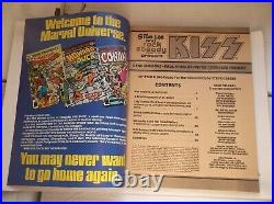 MARVEL COMICS SUPER SPECIAL #1, KISS BLOOD INK/HISTORY, WithPOSTER, 1977, VF (8.0)
