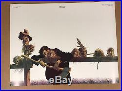 MEMENTOS, BERNIE WRIGHTSON. 1976 Original poster 17x23. MINT