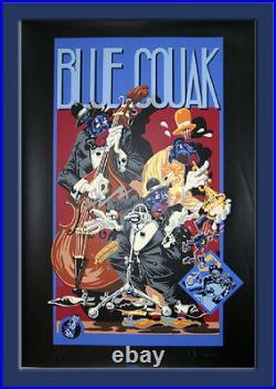 MEZZO SERIGRAPHIE BLUE COUAK 110 ex. N°/signés (1987)
