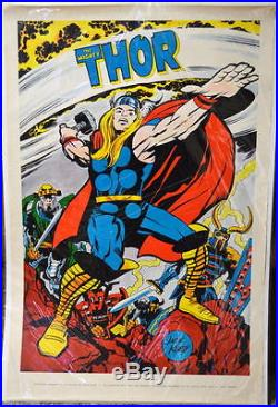 MIGHTY THOR POSTER MARVELMANIA 1970 Jack Kirby Art Mail Order ONLY