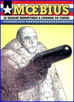MOEBIUS GIRAUD ROBOT TUEUR AFFICHE 200 ex. N°tés/signés par Moebius (1988)