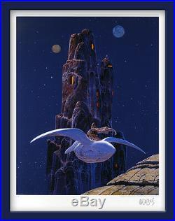 MOEBIUS GIRAUD STARWATCHER ARZACH LE ROCHER (USA) 80 ex. N°/signés