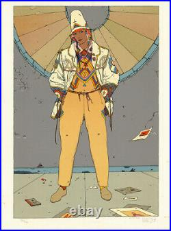 MOEBIUS SÉRIGRAPHIE STARWATCHER 1 US EDITION 300 ex. N°/signés AEDENA 1984