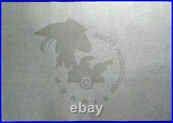 MORRIS Sérigraphie LUCKY LUKE JOSS JAMOM Limité à 100 ex. Archives 1999