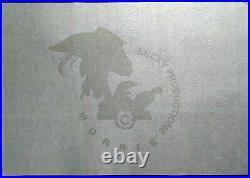 MORRIS Sérigraphie LUCKY LUKE JOSS JAMOM Limité à 100 ex. Archives 2000