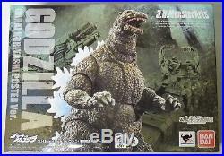 MW323. Godzilla Noriyoshi Poster Version S. H. MonsterArts Figure Bandai 2017