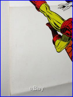 Marvel 1973 Foom poster 1Iron Man/Thor/Captain America/Avengers/Spider-man/Hulk