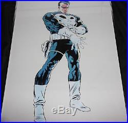 Marvel 1990 PUNISHER POSTER Edwin Ortega Framed Daredevil Netflix