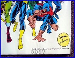 Marvel 25th Anniversary Poster (34 x 22)