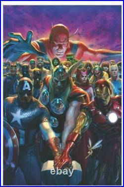 Marvel Avengers Issue 700 Comic Book Cover Poster Giclee Print Art 16x24 Mondo